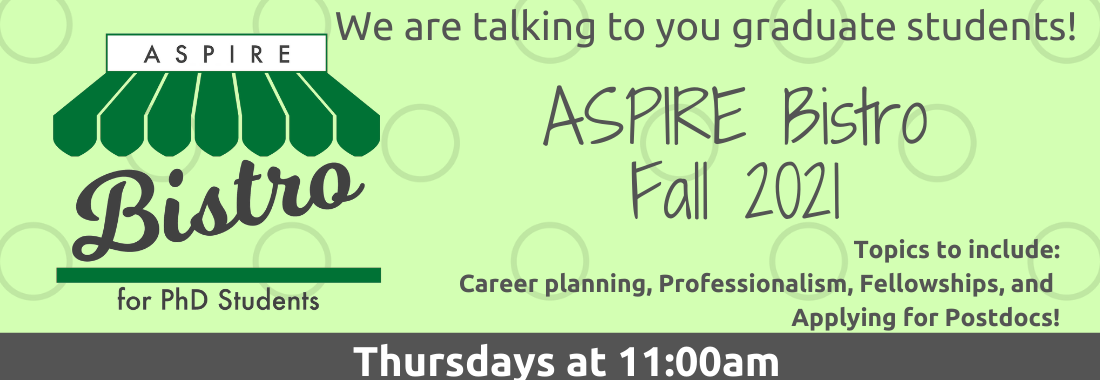 ASPIRE Bistro for PhD Students