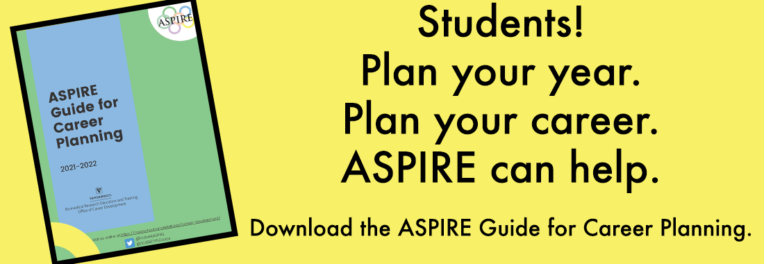 2021 PhD Student ASPIRE Guide for Career Planning