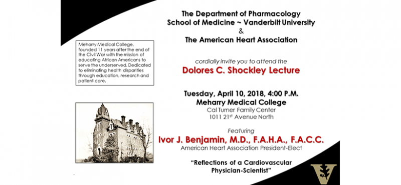 2018 Dolores C. Shockley Lecture Featuring Ivor J. Benjamin, M.D., F.A.H.A., F.A.C.C., American Heart Association President-Elect